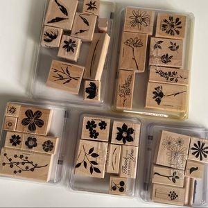 STAMPIN UP Flower Stamp Sets Floral Garden